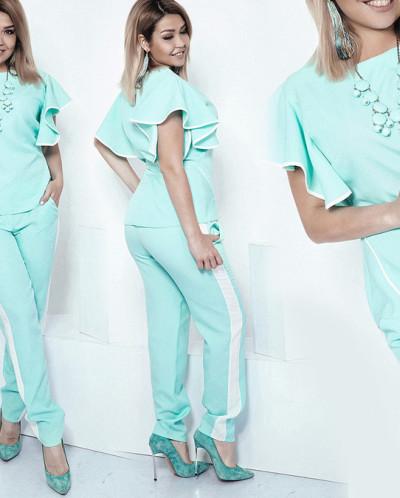 Костюм 33093 (блуза+брюки)