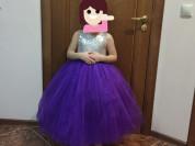 платье для принцессы-5 лет-5000₽