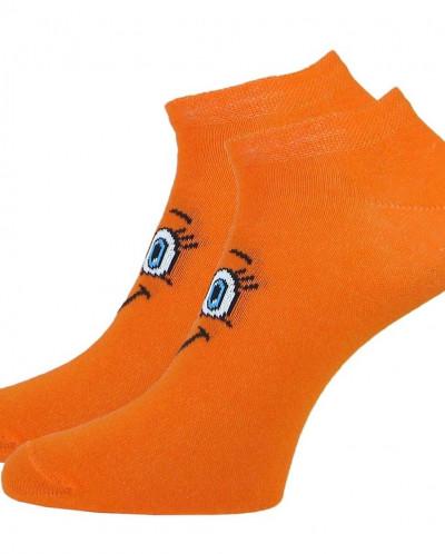 Детские укороченные носки «Смайлик»