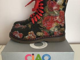 Ciao italian shoes кожа утеплитель (новые) размер 29