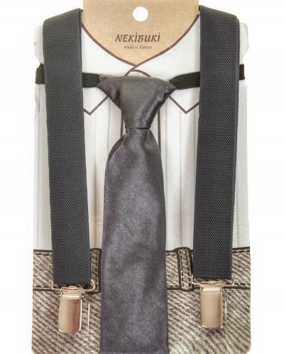 Набор для мальчика:подтяжки и галстук