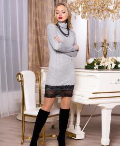 """Платье """"А-67"""" (серый)"""
