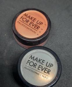 Make up for ever тени рассыпчатые мерцающие