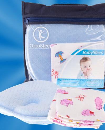 Подушка «OrtoSleep» BabySleep + одна наволочка