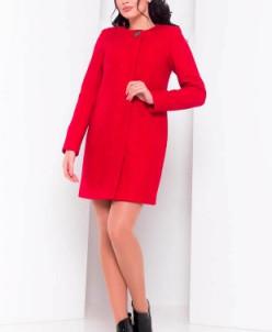 Пальто Фортуна 0904 (красный) Modus