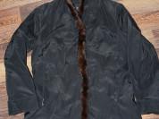 Куртка осенняя р.44 (мех натуральный норка)
