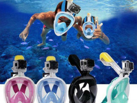 Маска для подводного плавания, снорклинга