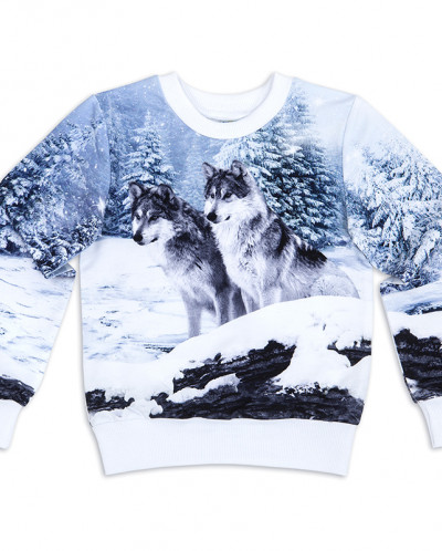 Свитшот Волки