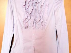 Блуза слим с жабо NELVA р. 44