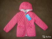 Новая стеганная курточка д/д. Размер 98.