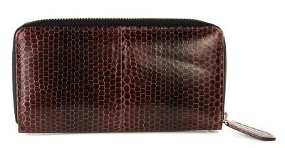 Клатч-портмоне из кожи морской змеи