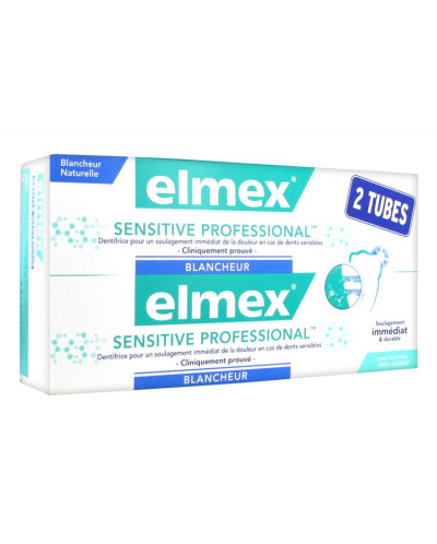 Elmex Sensitive Professional Белизна 2 х 75мл