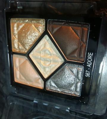 Dior тени 5 цветные 567