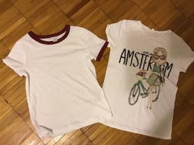 Пакет футболок Zara, H&M p 8– 10 лет.