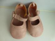 домашние туфли BabyGAP, нат.кожа, р.3 (США), новые