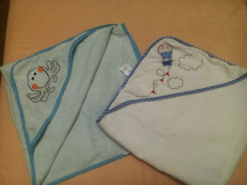 Полотенце с уголком Mothercare 2 шт махра