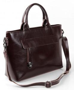 Женская кожаная сумка 1759 Кофе26