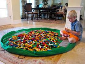 Коврики XL для Лего LEGO и игрушек.