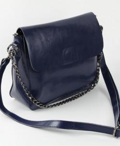 Женская кожаная сумка  8835 Синий
