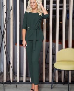 блуза, брюки Dilana VIP Артикул: 1226 зеленый
