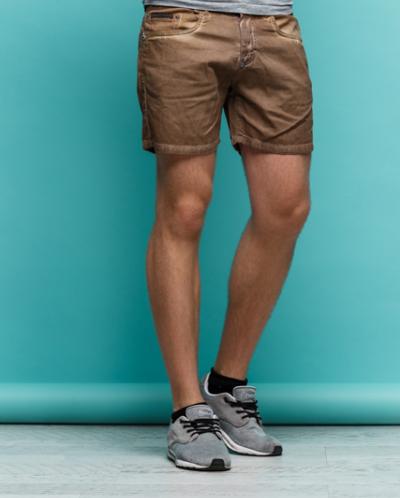 Мужские шорты Бадди коричневый