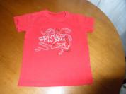 Красная футболка Grishko