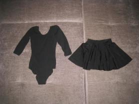 купальник и юбка solo 32р для хореографии