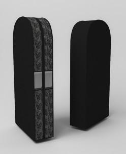 Чехол двойной для одежды большой, 60х130х20см