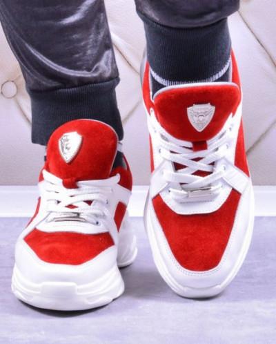 Женские комбинированные кроссовки