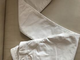 Белые вельветовые брюки Banana Republic