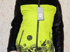 Новое утепленное полупальто куртка осень 42 46 48