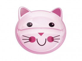 Тарелка с разделением Canpol Animal, котёнок