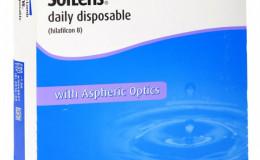 Однодневные контактные линзы Soflens Daily Disposable (90 ли