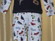 Пижама детская комбинированная новая р.110/116