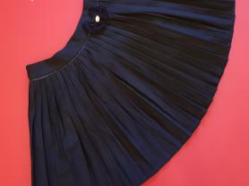 Новая школьная юбка Noble People синяя 152