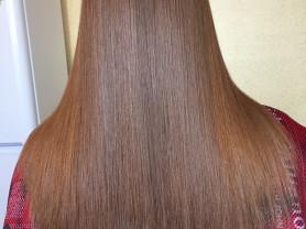 Окрашивание волос. Кератин