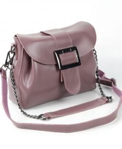 Женская кожаная сумка W265 Ред Бин Паст