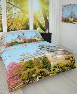 Фотопокрывало Японский замок 150*215