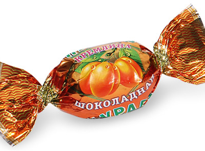 Курага КРЕМЛИНА шоколадная с грецким орехом 230 гр