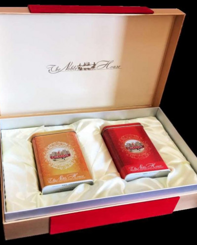 Чай Chelton Благородный Дом подарочный набор 100гр+100гр ж/б