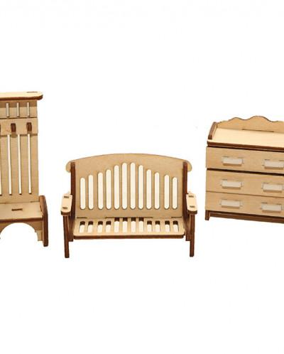 Country house+6 комплектов мебели