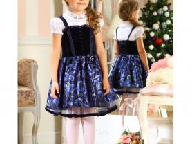 Платье нарядное. Маленькая леди.