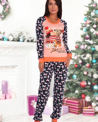 Пижама 184 футер