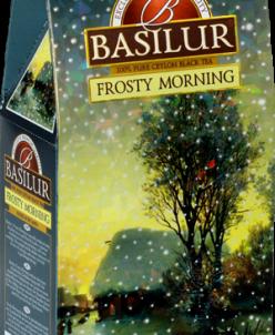 Чай Basilur Морозное утро 100 гр картон
