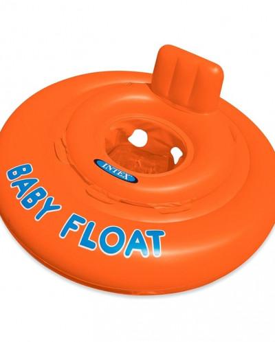 Круг для плавания с сиденьем Baby float