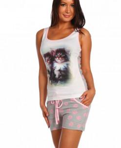 Пижама Два котенка шорты