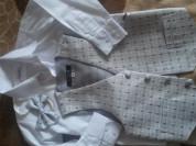 Рубашкас жилеткой (+ бабочка) на 4 года