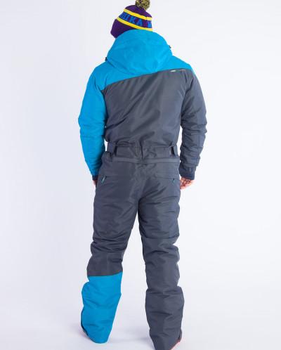 Комбинезон мужской Snow Headquarter A-8655, Серый