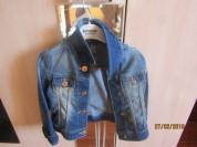 Джинсовка Zara р 92-98 (2-3 года)