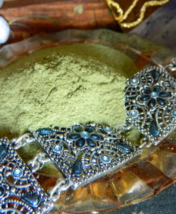 Хна для волос индийская рыжая Sahbi, 200 гр